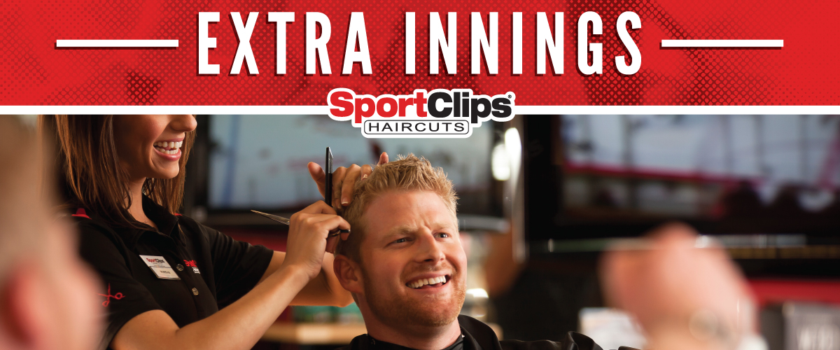 The Sport Clips Haircuts of Denton - Teasley Extra Innings Offerings